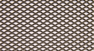 10-89 Raised Mild Steel expanded mesh