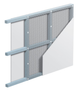 MD1 HD1 Medium and Heavy duty Security Mesh installation example