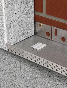 System Starter Base Track for External Insulation
