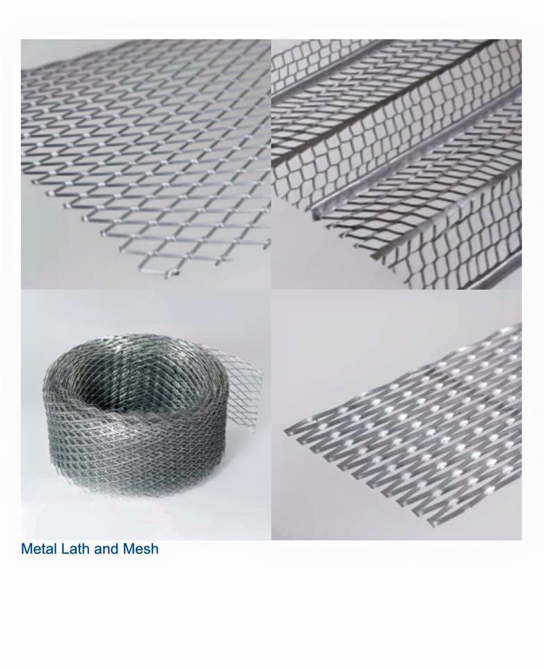 galvanised coils and mesh