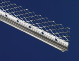 galvanised plastering stop beads for internal plastering applications available in 2.4m, 2.7m and 3.0m lengths