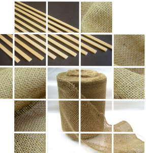 We supply Jute Scrim and Obeche Lath for the traditional plaster mould trade.