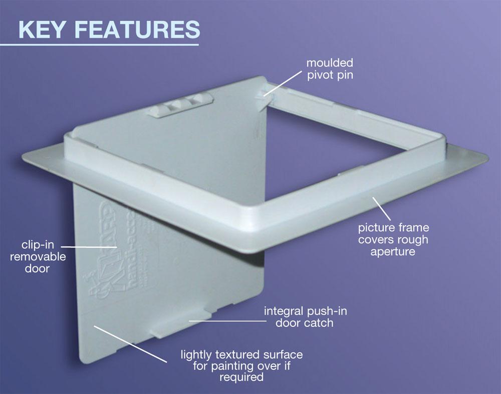Profab 2000 Series Plastic Handi Access Panels Building