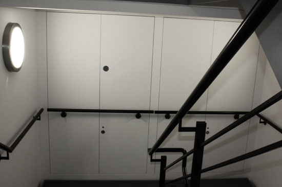 Profab 4000 Series Riser Doors For Fire Rated Walls