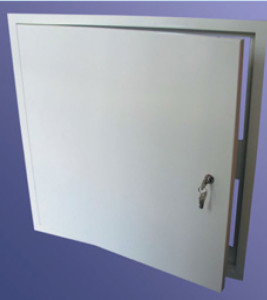 Profab 9000 series Sealed Clean Room Access Panels lock details