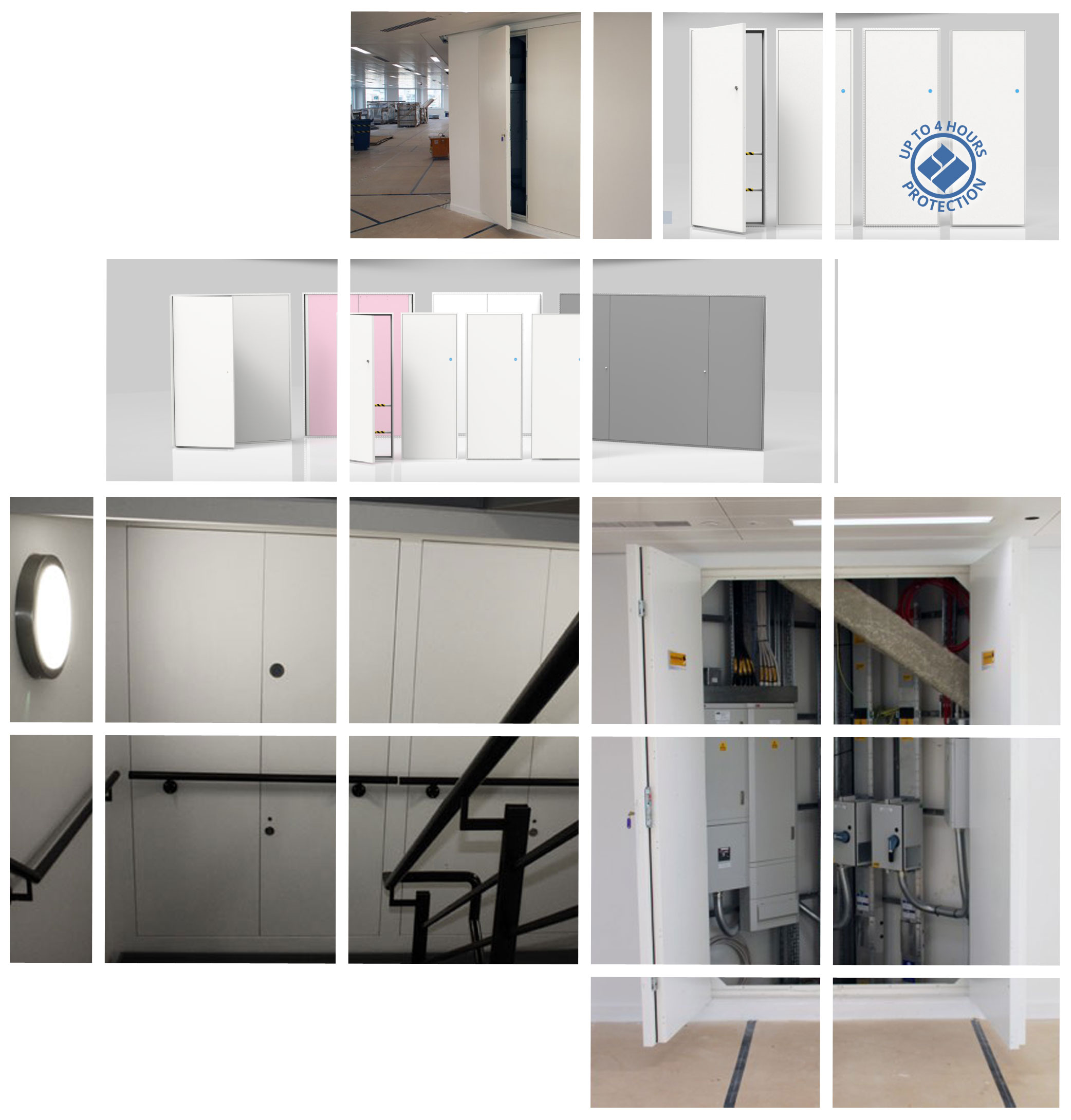 Concealed Riser Doors are suitable for riser, duct and pod access applications.
