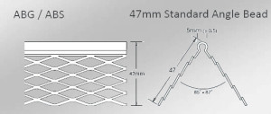 stainless steel angle bead for external plastering applications and render application