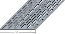 Protektor 9041 Flat 70mm Aluminium Ventilation Profile